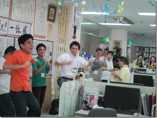 沖縄出版朝礼